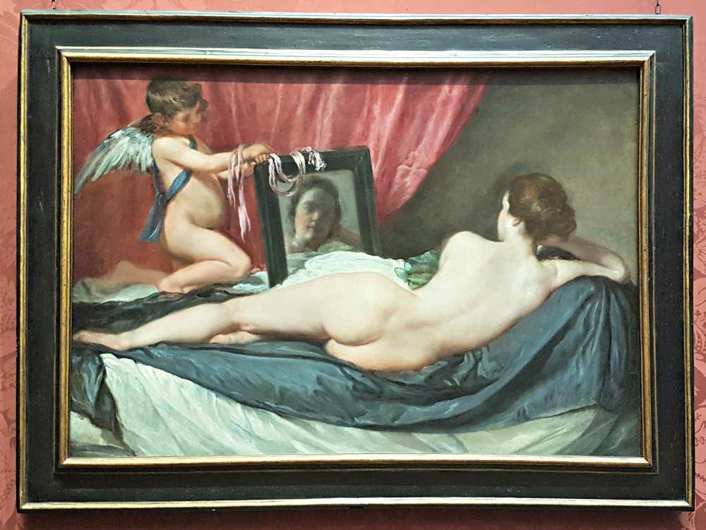 Erotic London, Erotic Art London, Toilet of Venus, Velazquez