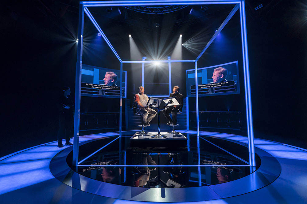 Quiz play, theatre review, Quiz, Noel Coward Theatre, James Graham, Who Wants to be a Millionaire
