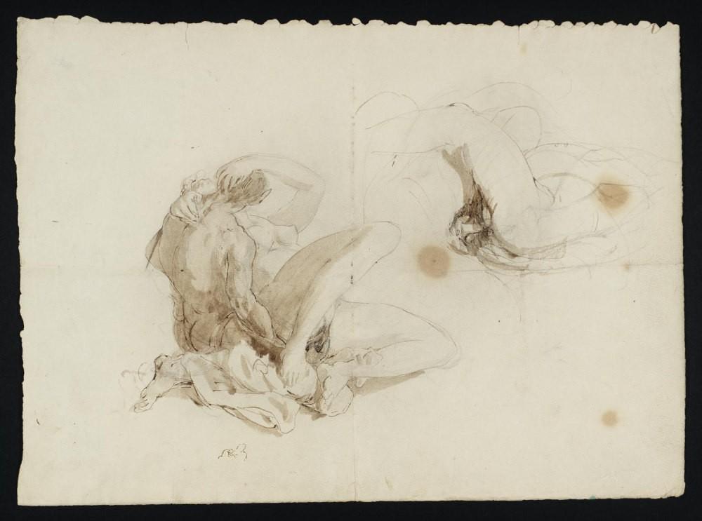 Erotic London, Erotic Art London, Turner nudes, Ruskin, Tate Britain