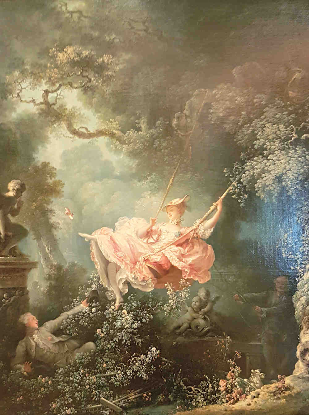 Erotic London, Erotic Art London, Erotic Art in London, Wallace Collection, The Swing, Fragonard