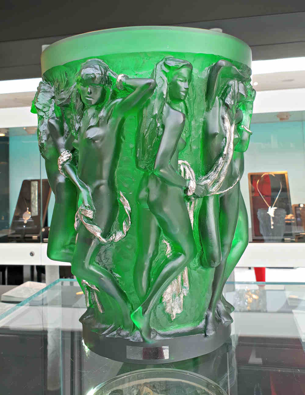 Lalique in London, erotic glass art