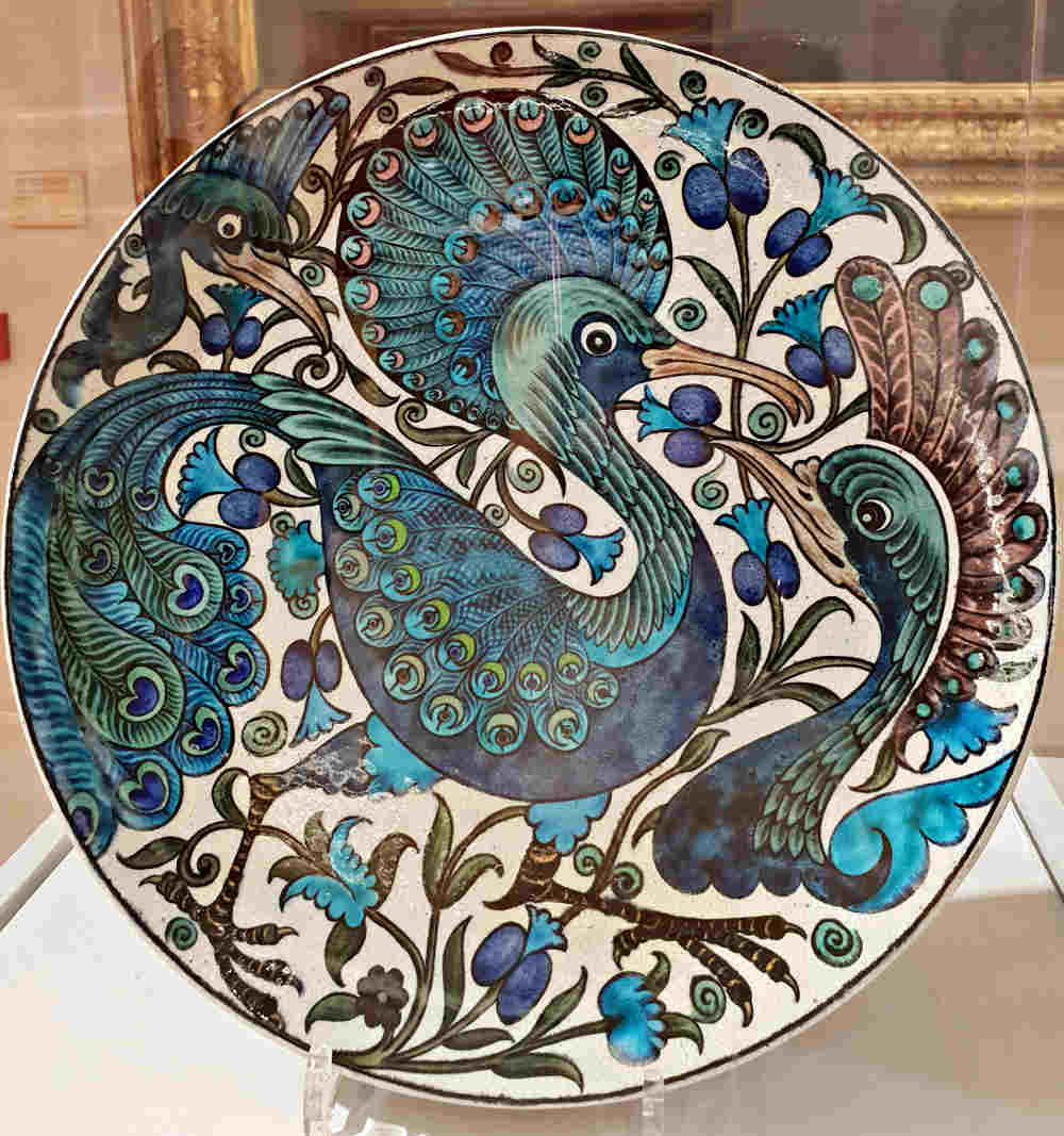 William de Morgan, Guildhall Art Gallery, Sublime Symmetry, Arts and Crafts, Victorian artist, ceramic art