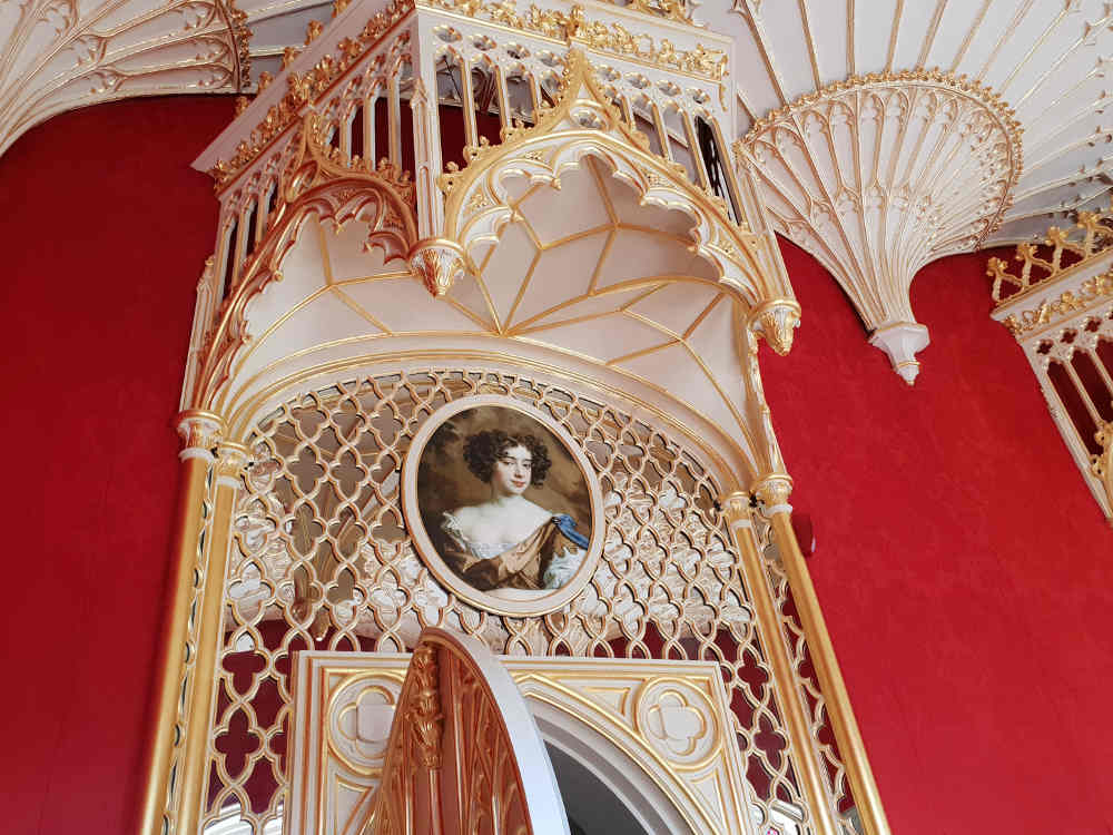 Strawberry Hill House, Twickenham, Horace Walpole, Gothic, architecture, Gallery
