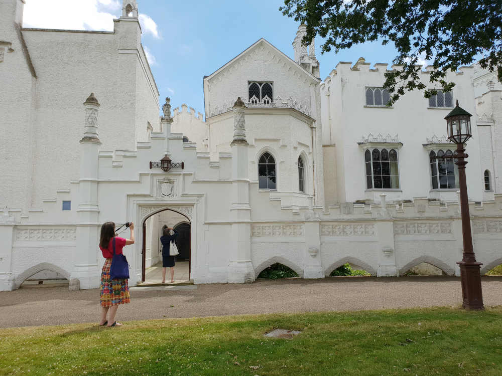 Strawberry Hill House, Twickenham, Horace Walpole, Gothic, architecture