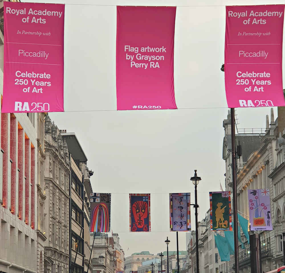 Cultured Kids, RA250, Royal Academy, Flags, Grayson Perry