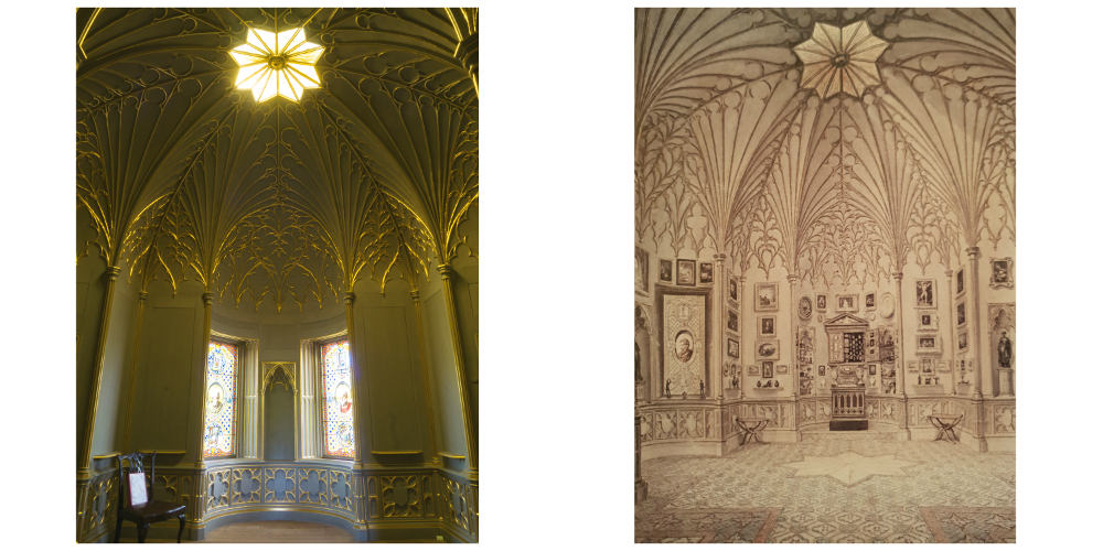 Strawberry Hill House, Tribune