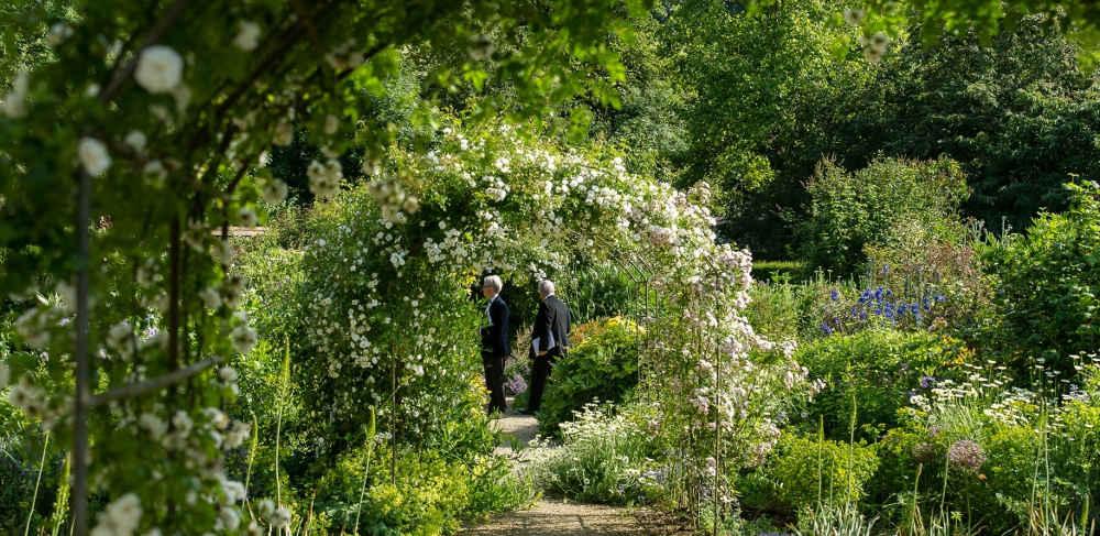 Garsington Opera, Wormsley, walled garden, Penelope Hobhouse