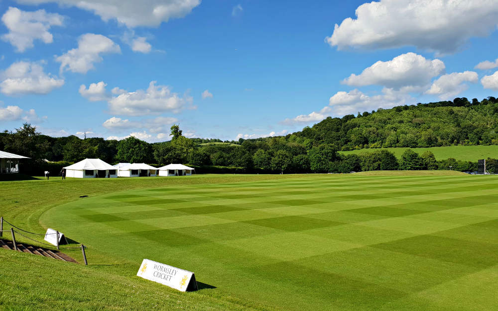 Garsington Opera, Wormsley, cricket