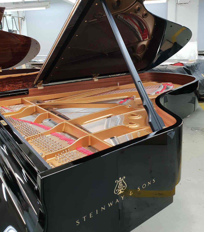 Steinway Pianos, Hamburg factory, history of Steinway, Steinway and Sons, tour of Hamburg factory