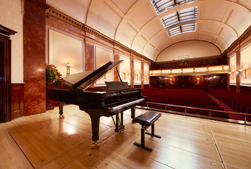 Wigmore Hall Steinway Steinway and Sons London