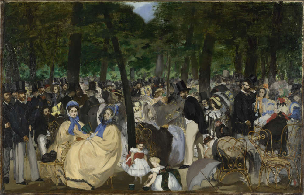 September in London, Impressionists at National Gallery, Courtauld Impressionists