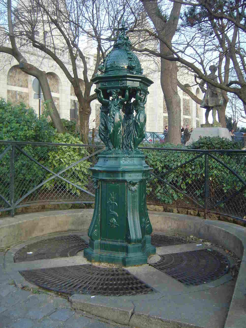 Fontaines Wallaces, Paris