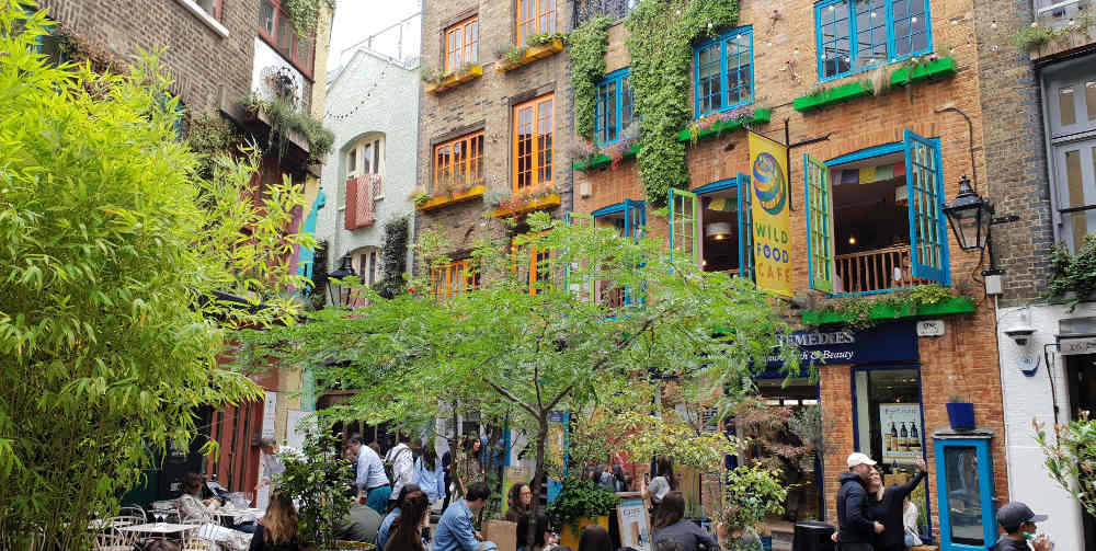Covent Garden in one day, things to do in Covent Garden, guide to Covent Garden, Neal's Yard London