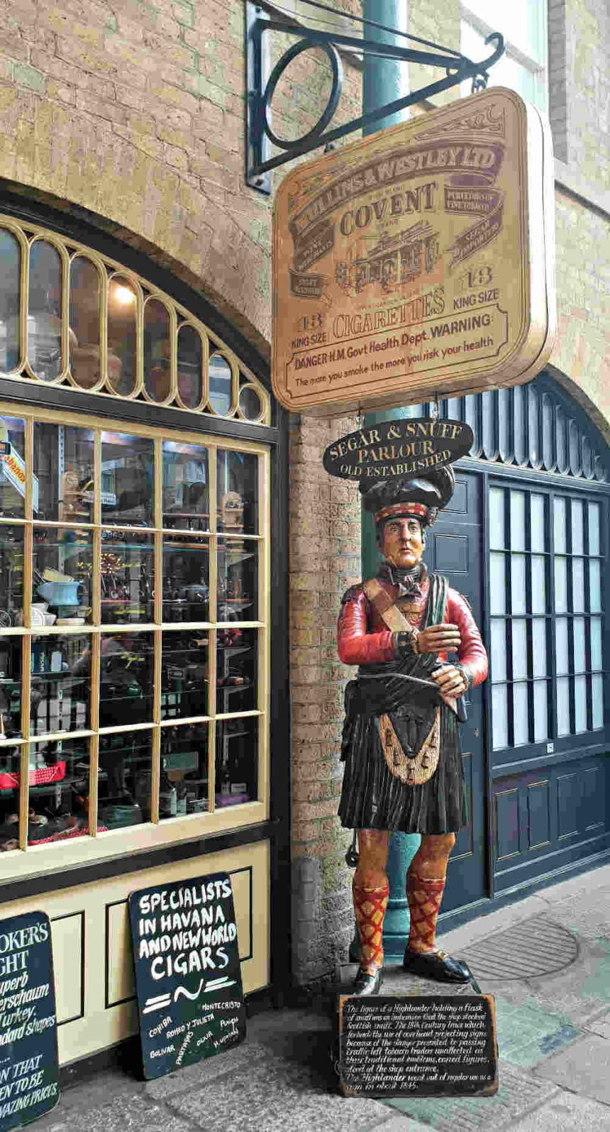 Covent Garden in one day, things to do in Covent Garden, guide to Covent Garden, snuff shops London, Segar and Snuff