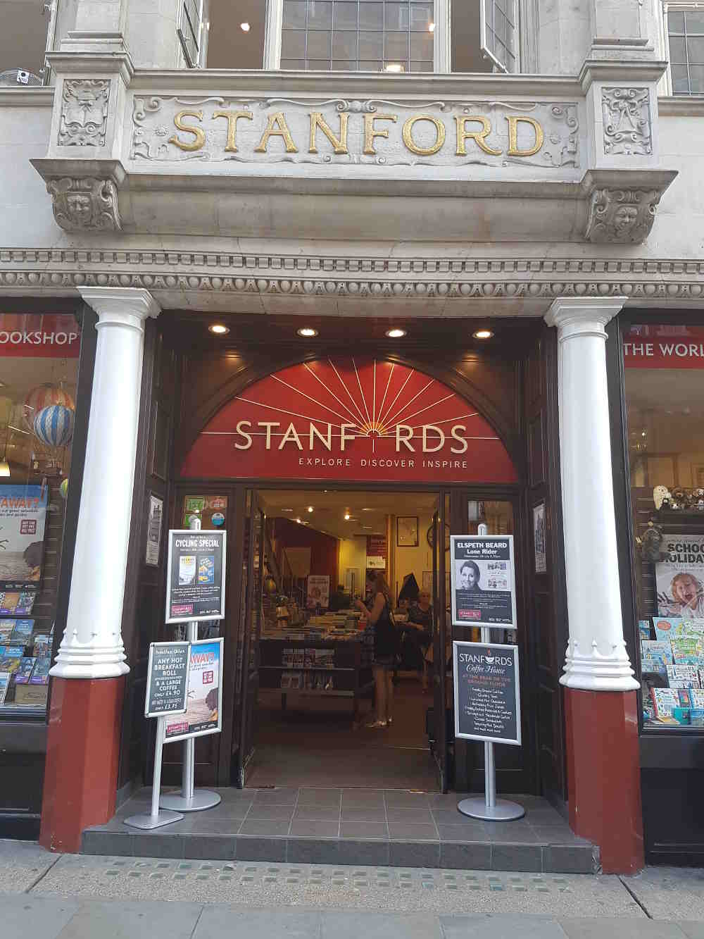 Covent Garden in one day, things to do in Covent Garden, guide to Covent Garden, Stanfords, travel bookshop London