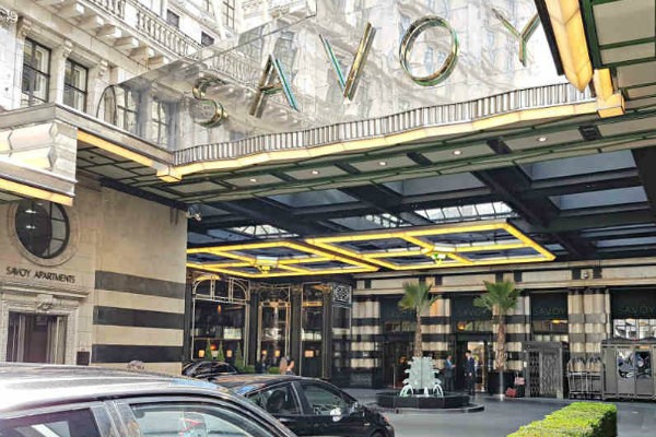 The Savoy London, History