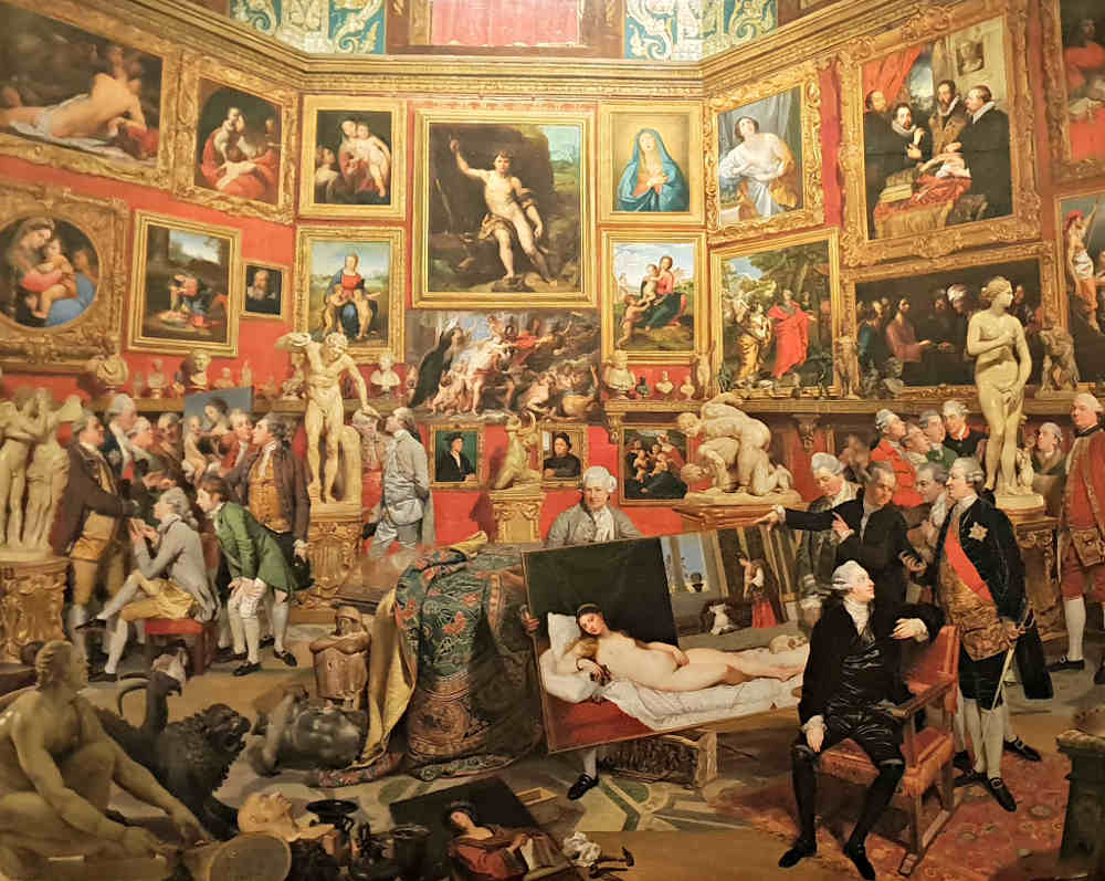 Prince and Patron, Buckingham Palace, Royal Family, Prince Charles, Zoffany, Uffizi
