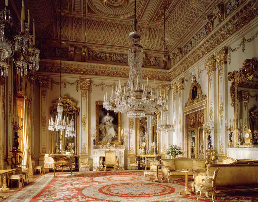 Prince and Patron, Buckingham Palace, State Rooms