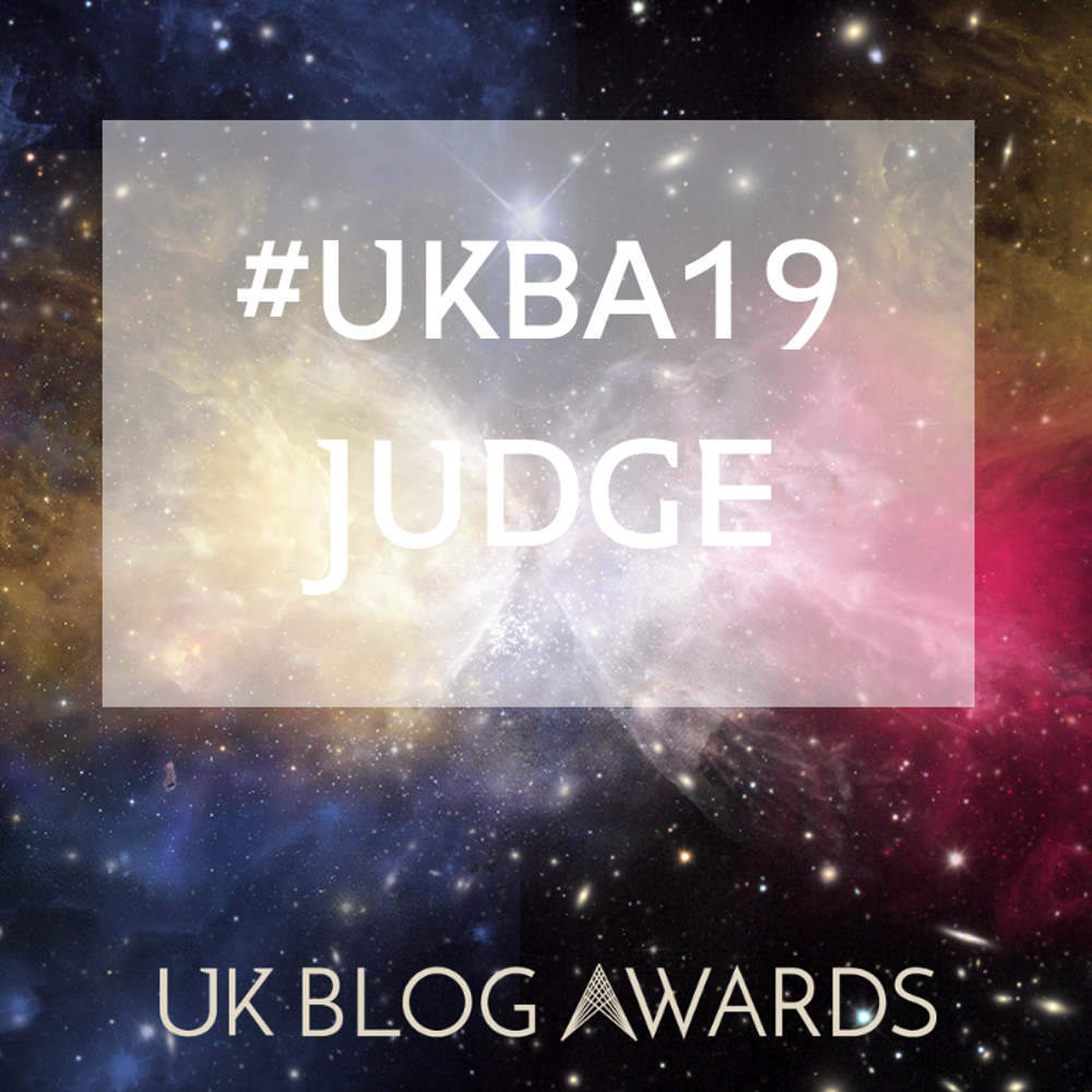 UKB Blog Awards, 2019. Judge, Art and Culture