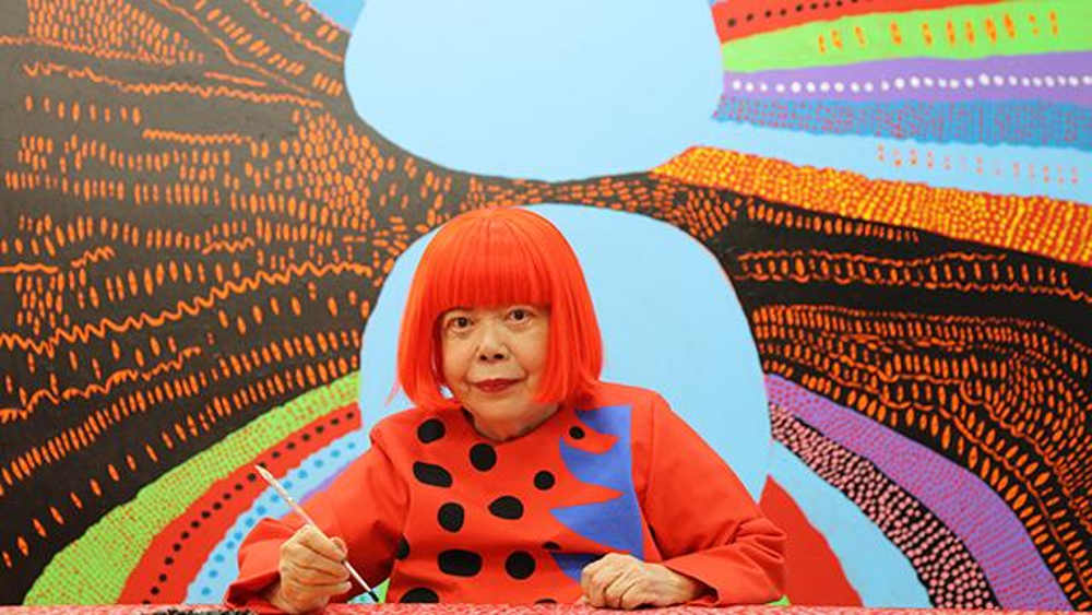 Yayoi Kusama, Victoria Miro, London art exhibition