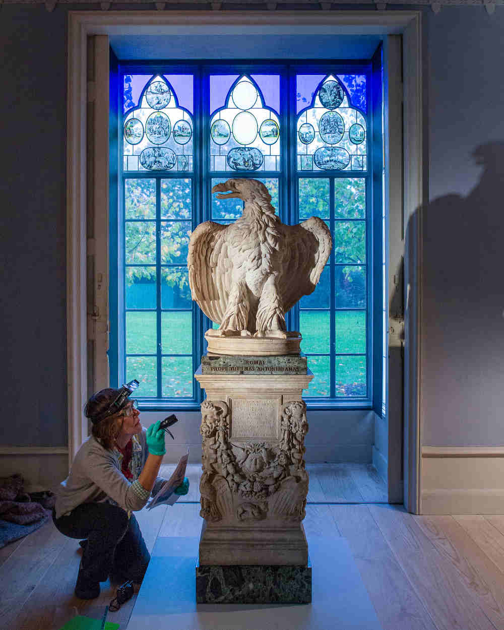 Lost Treasures of Strawberry Hill, Eagle, Horace Walpole, Anne Seymour Damer