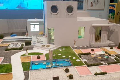 Home Futures, Design Museum, Mon Oncle, Jacques Tati. Villa Arpel