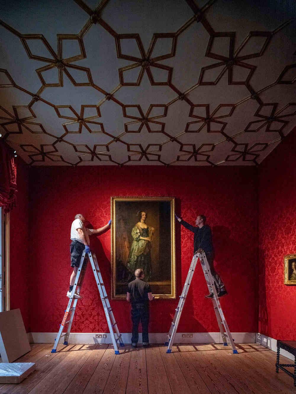 Lost Treasures, Strawberry Hill, Walpole, Catherine the Great, van Dyck