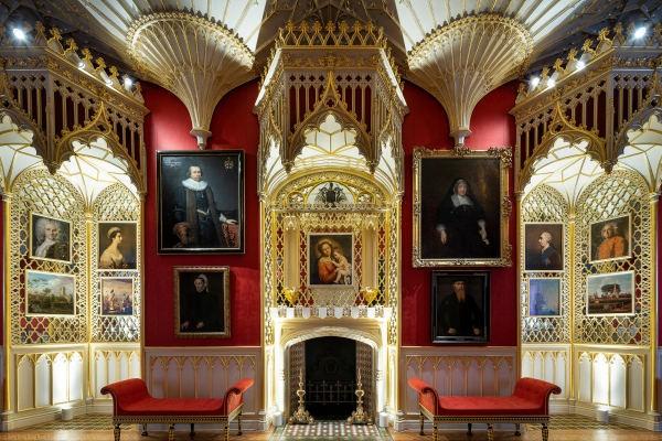 Lost Treasures of Strawberry Hill, Horace Walpole, gothic literature, gothic design,