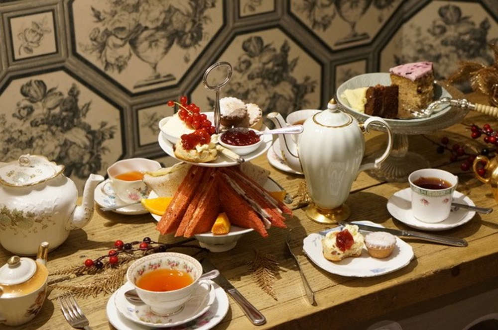 Orange Peko, Christmas Afternoon Tea in London, Alternative Christmas in London