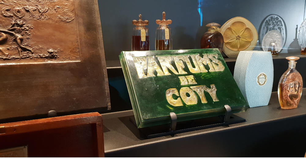 Coty perfume, Lalique, Museum, Alsace