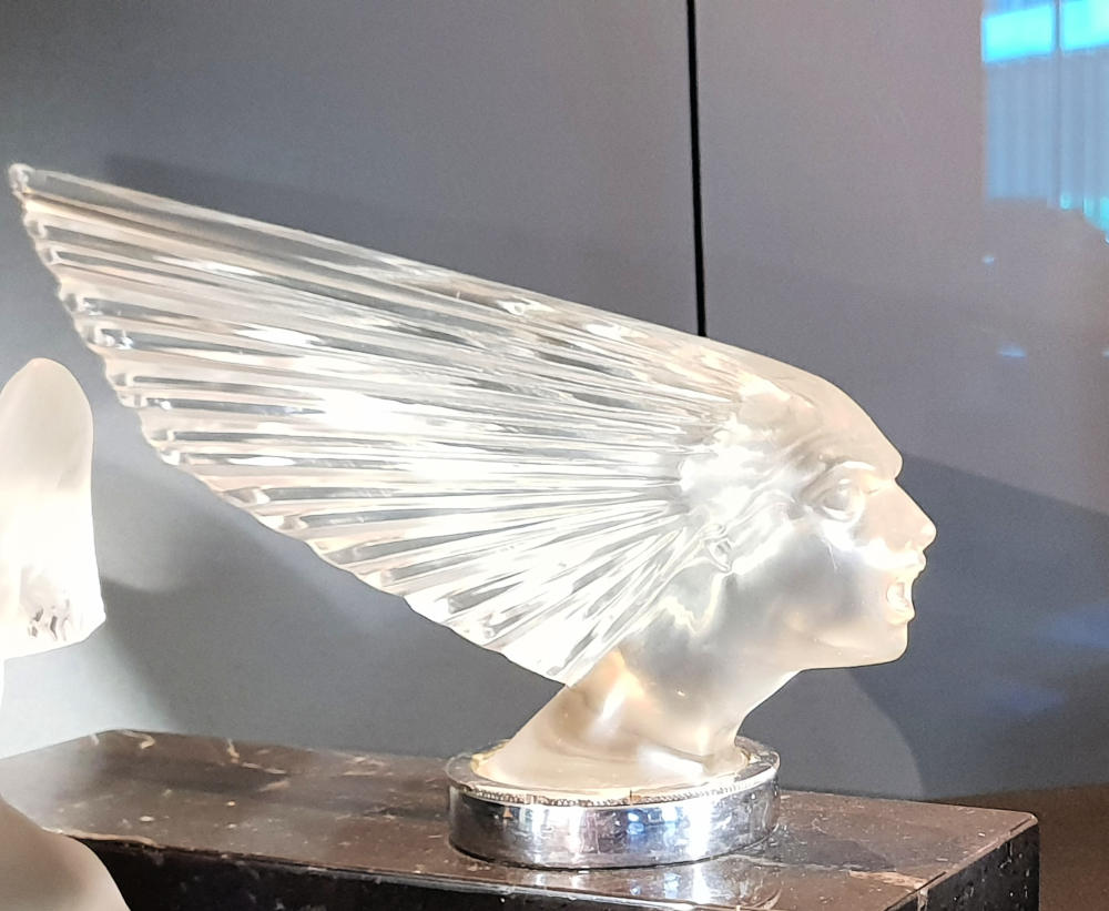 Spirit of the Wind, car mascot, Rene Lalique