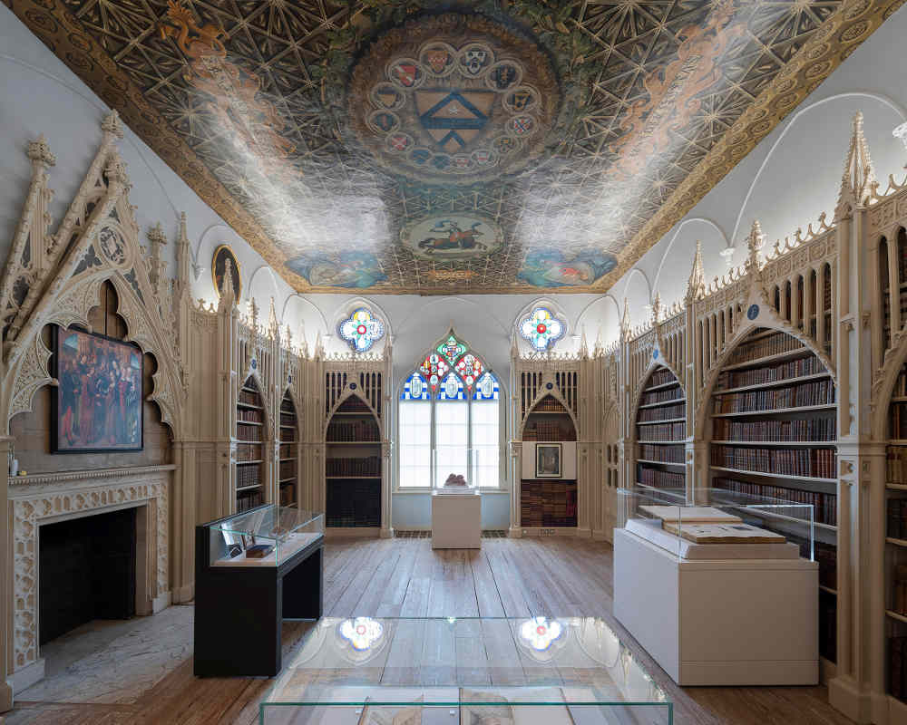 Lost Treasures of Strawberry Hill, Library