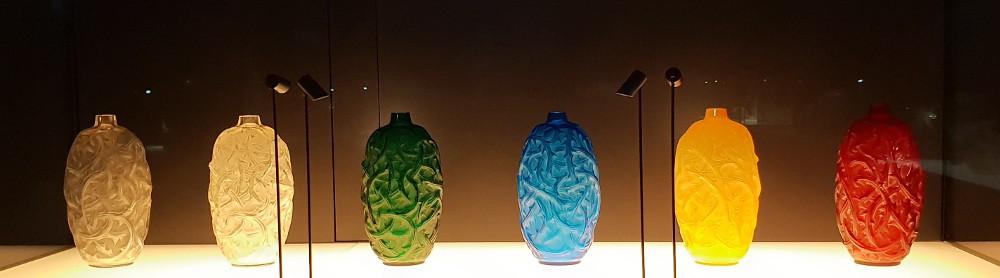 Lalique Museum, vases, Ronces