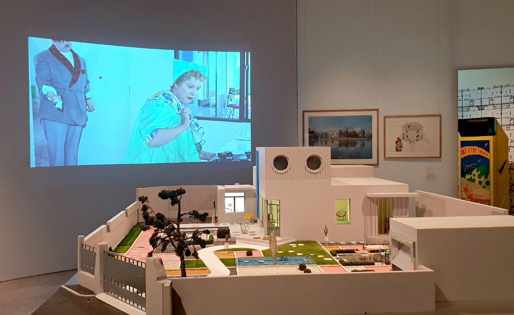 Home Futures, Design Museum, Mon Oncle, Jacques Tati. Villa Arpel