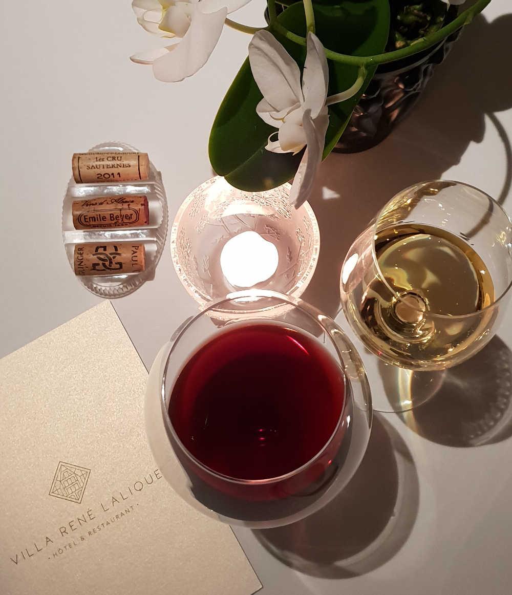 Villa Rene Lalique restaurant Jean-George Klein