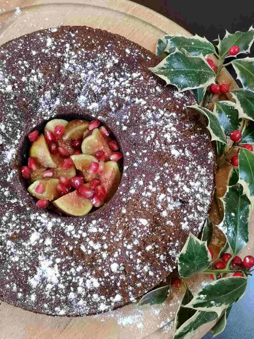 Gingerbread Cake, Dinner with Dickens