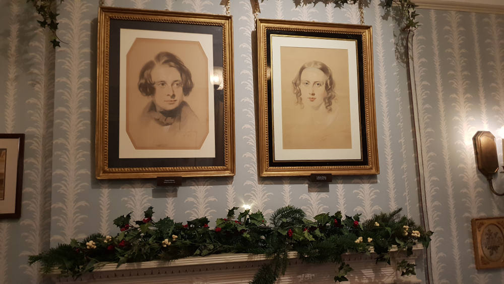 portrait Charles, Catherine Dickens, Dickens Museum