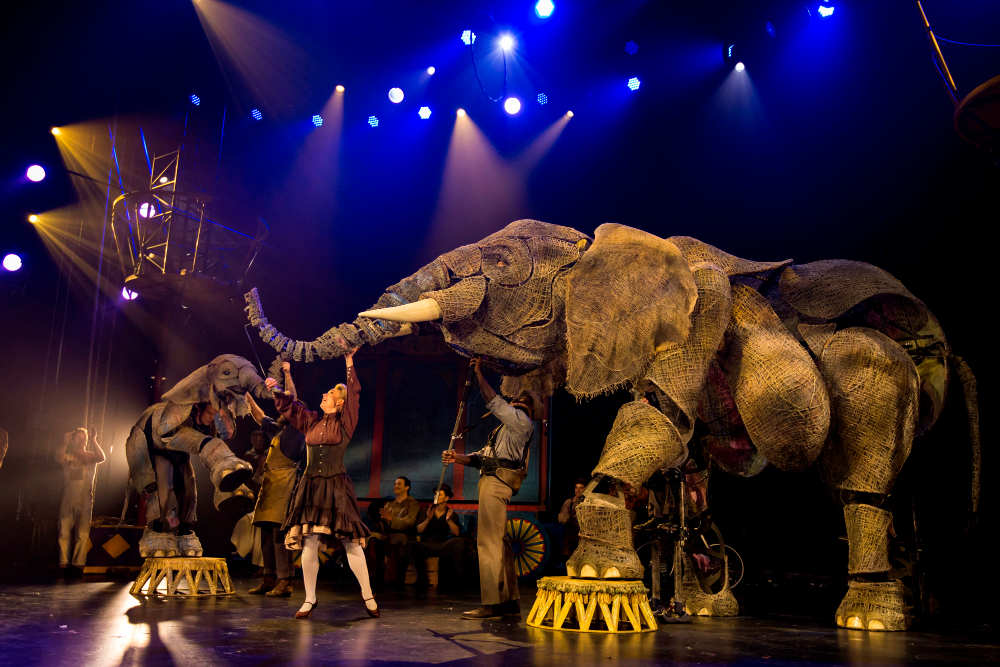 Circus 1903, Royal Festival Hall, Southbank, puppets, war horse, Significant Object