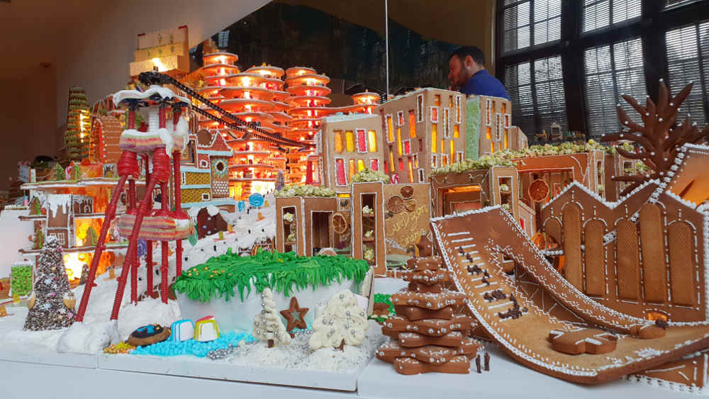 Gingerbread City, V & A, Victoria and Albert