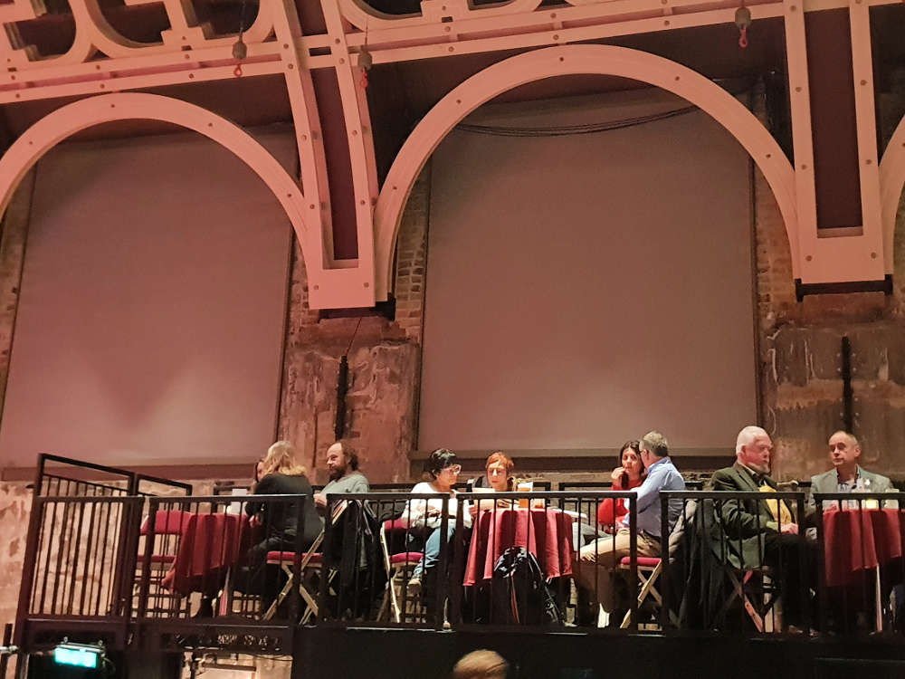 Orpheus, Battersea Arts Centre, Dinner