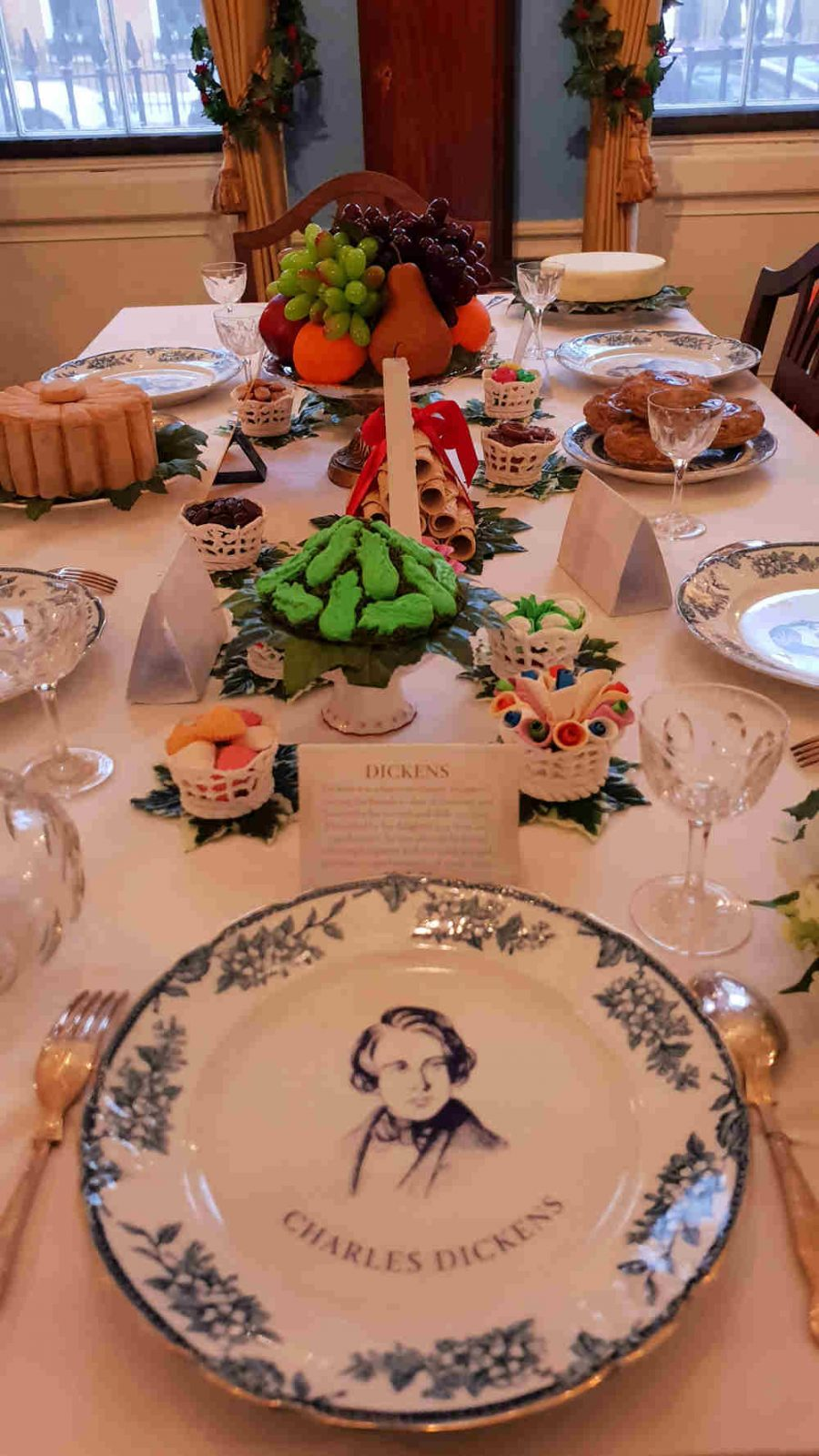 dickens museum food glorious food, dinner with dickens, Dickens museum christmas 2018, dickens museum food