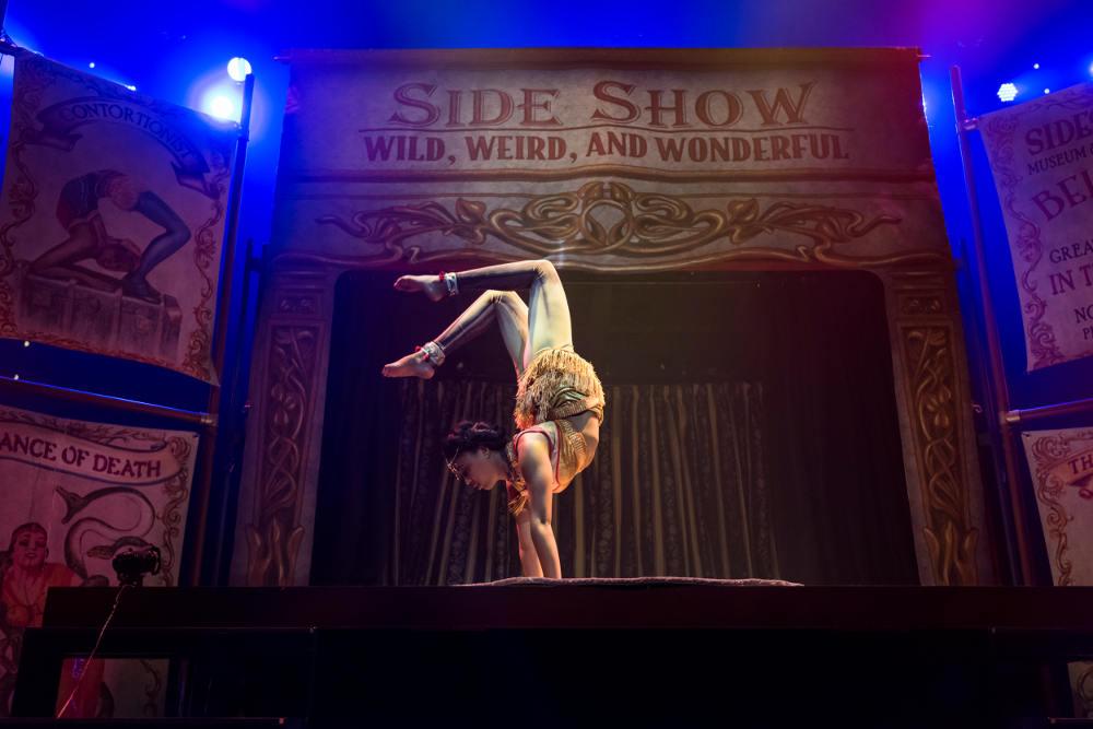 Circus 1903, Elasticated Dislocationist