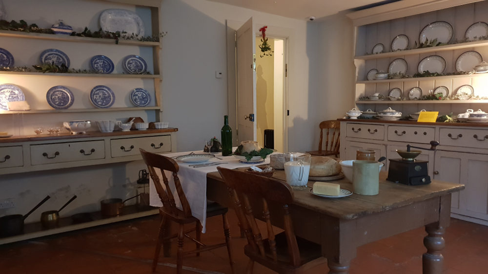 Kitchen, Dickens Museum, Victorian Christmas,