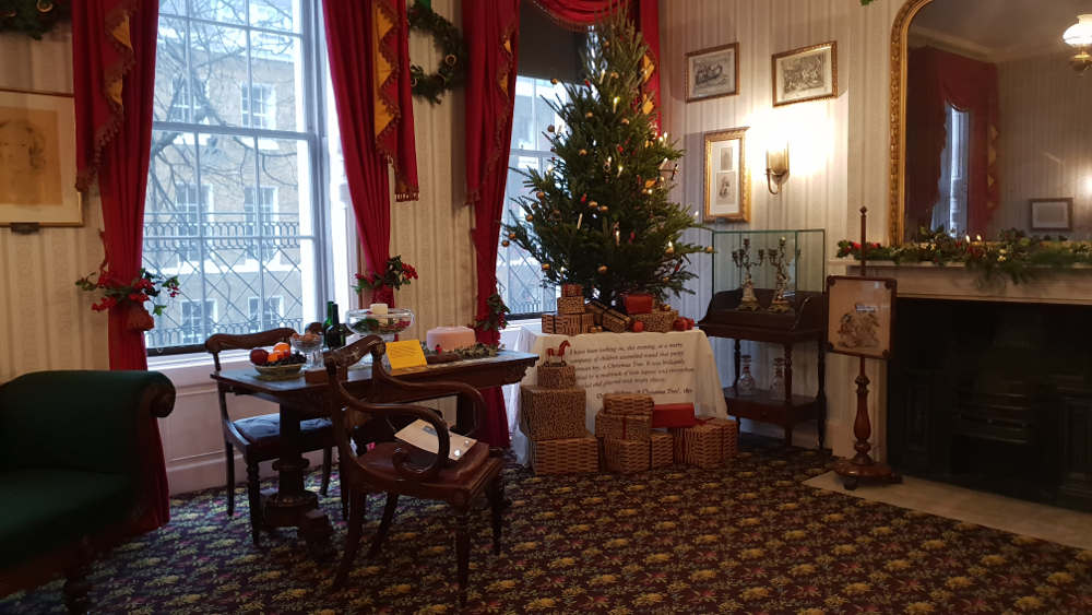 Dickens Museum, Christmas, Dickens in London