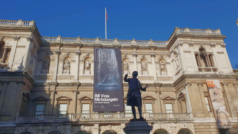 Bill Viola, Michelangelo, Royal Academy