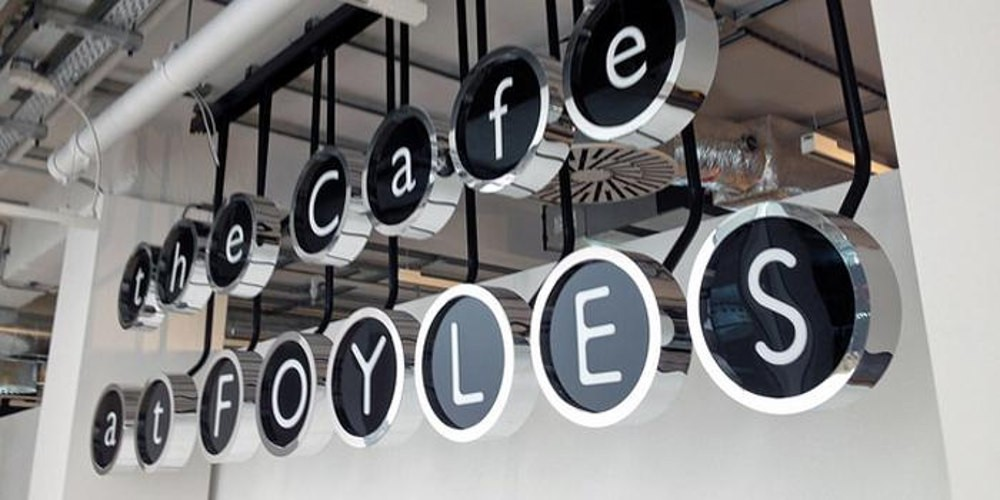 London's best bookshop cafes, Foyles, cafe at foyles