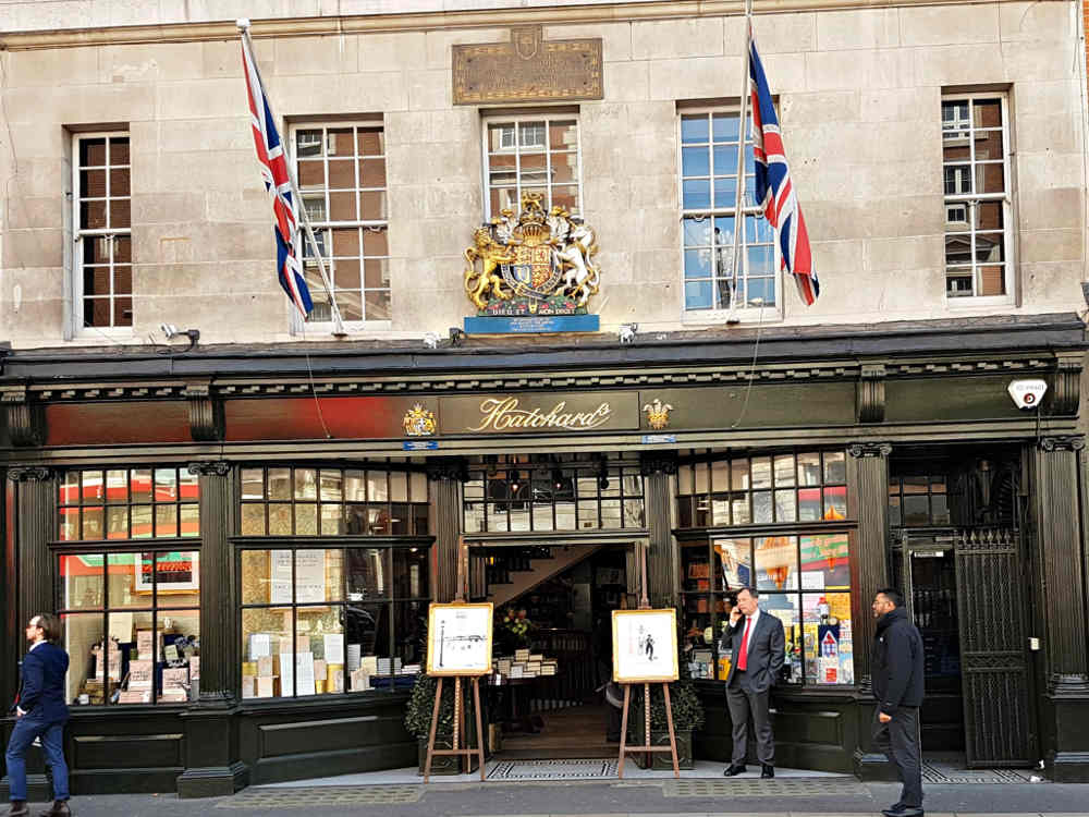 Oldest bookshop in London, Hatchards, London's best bookshop in London