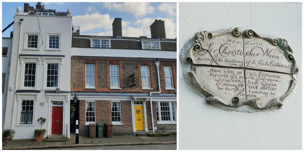 49 Bankside, Christopher Wren plaque, London, Visit Bankside, London myths
