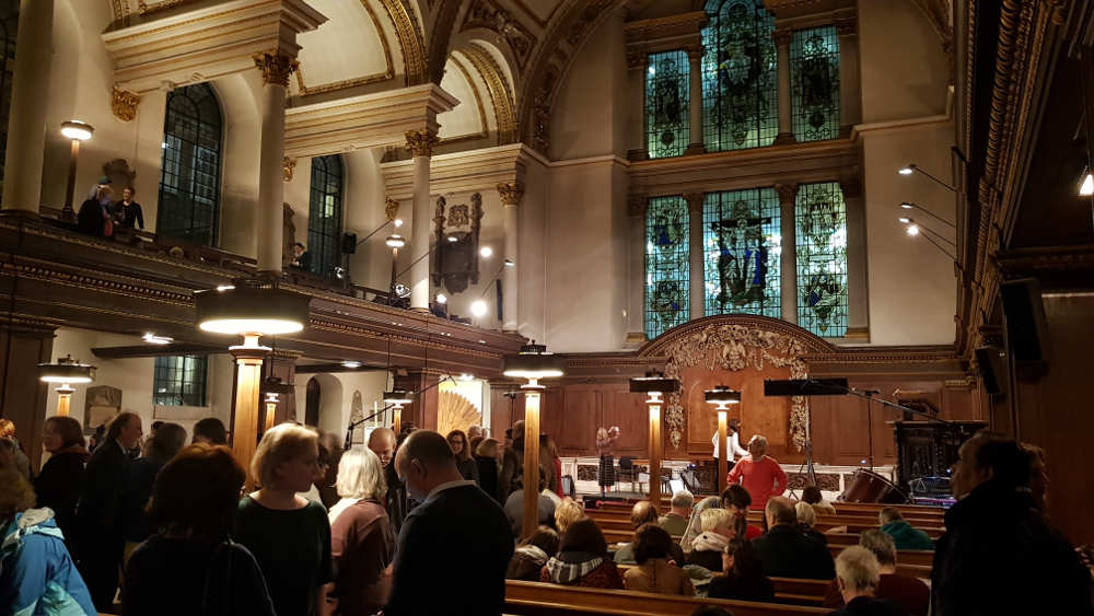 St James's Church, Piccadilly, events, opera