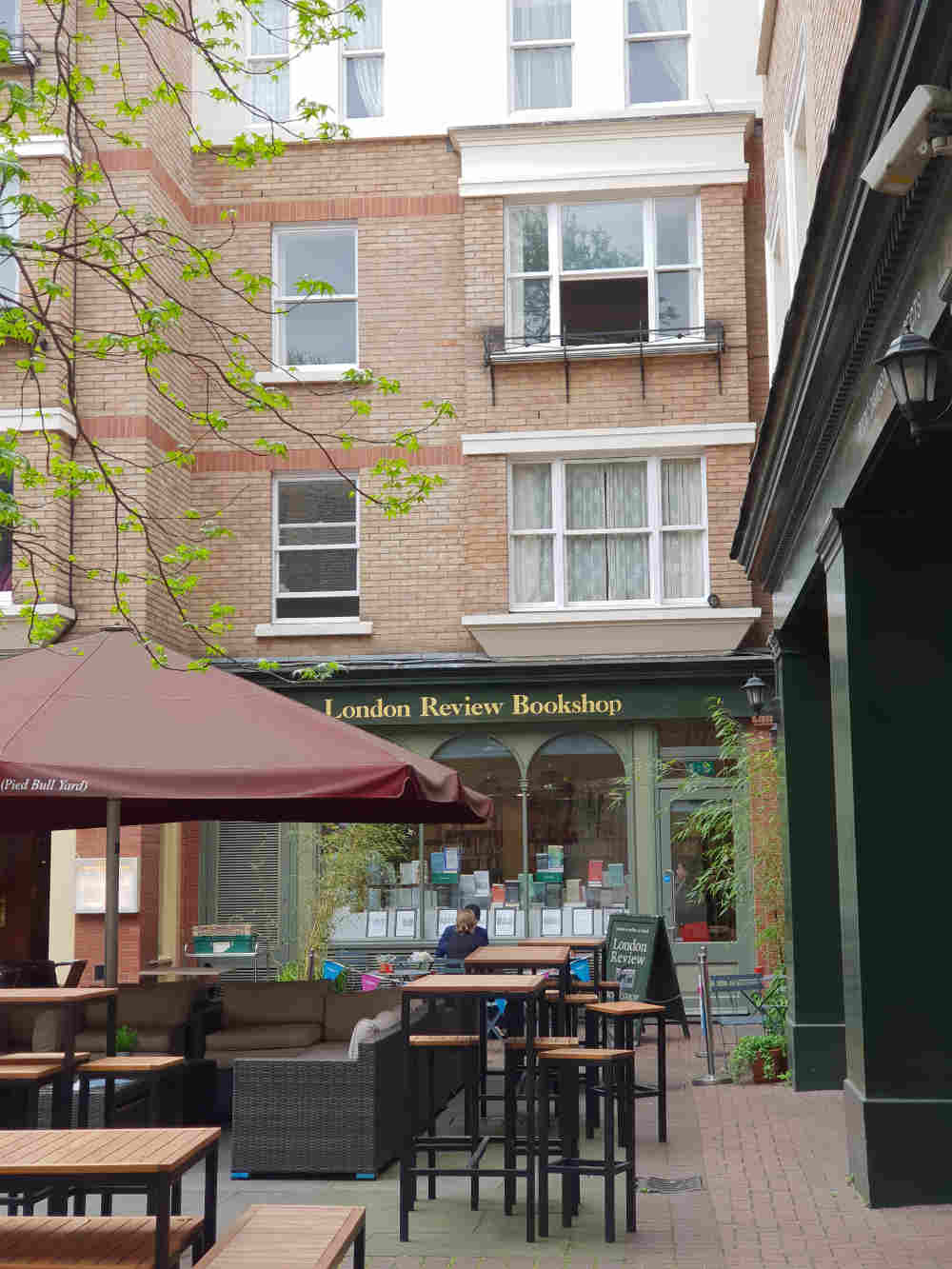London Review of Books, best bookshop cafes in London, Terry Glover